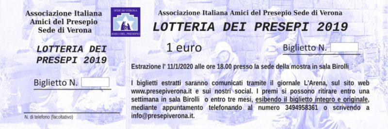 Lotteria del Presepio 2019-2020