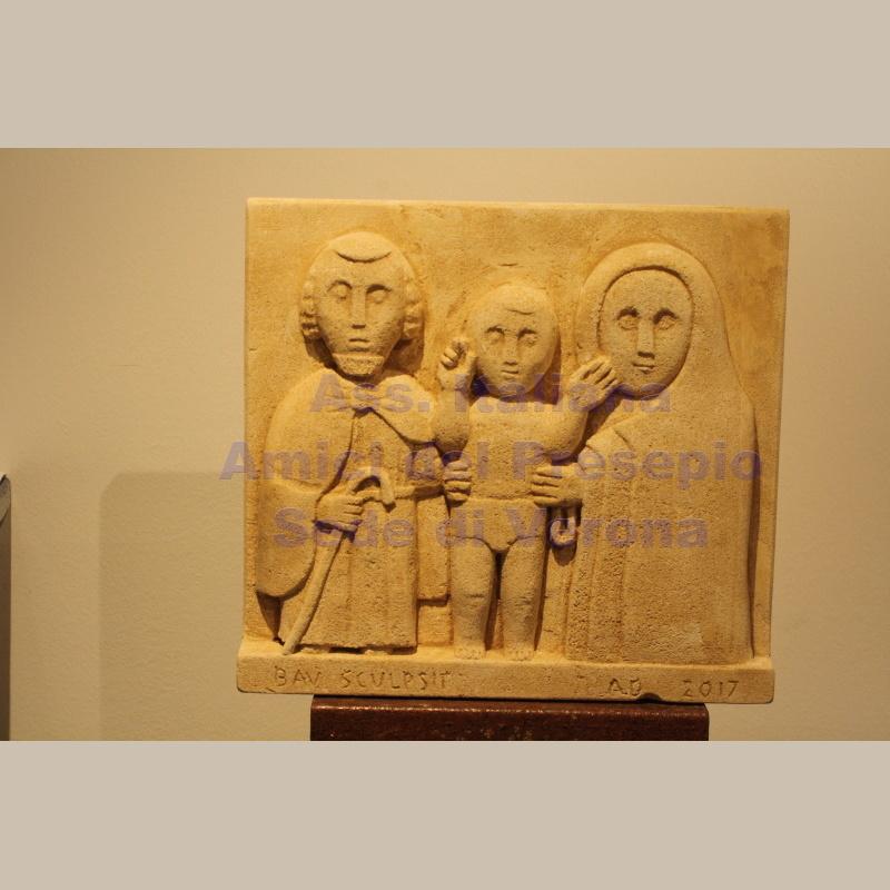 Natività in pietra di Vicenza - Baù Pino