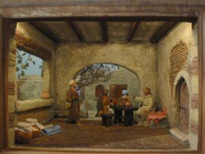 Diorama di sezione Emmaus